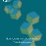 Platforms for Partnership: an essential mechanism to implement the post-2015 development agenda
