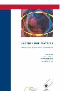 Partnership Matters Journal