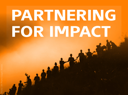Partnering for Impact Report Launch - Dec 3, London