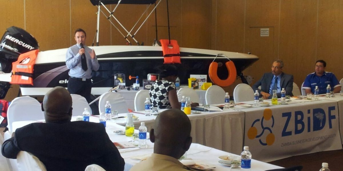Zambia BIDF brings together government, business, and NGO for a Marine Safety Dialogue