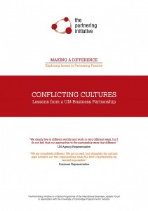 Conflicting Cultures : Lessons from a UN Business Partnership