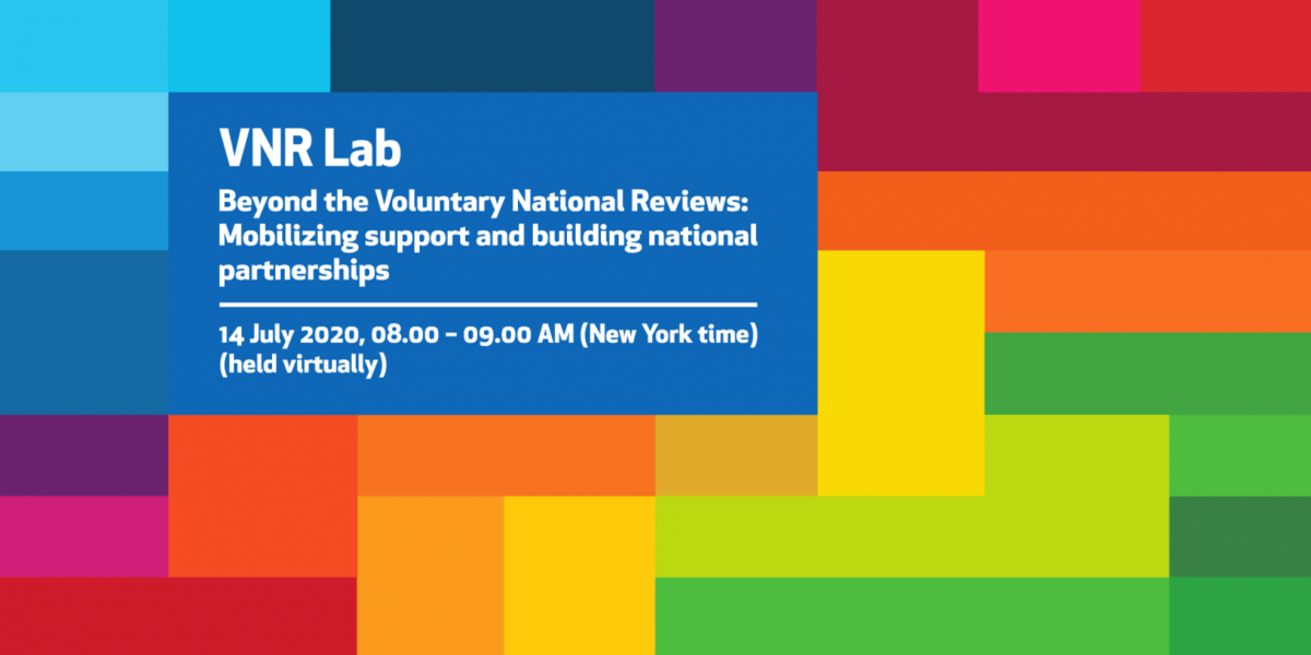 TPI joins the Voluntary National Review Lab on partnerships as part of the 2020 HLPF