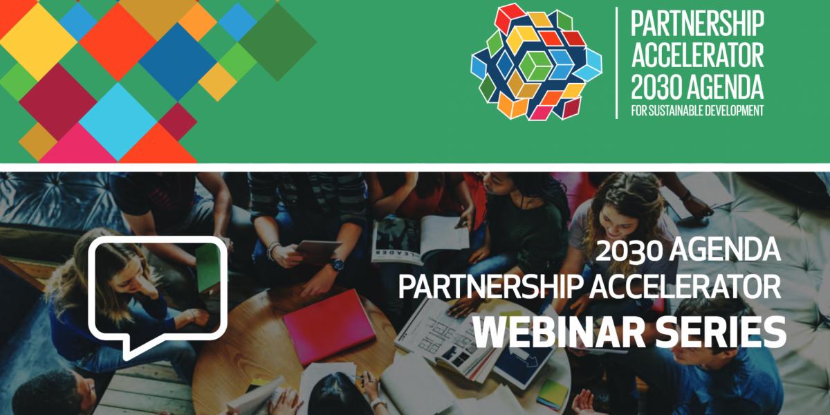 SDG Partnership Accelerator Webinar 3
