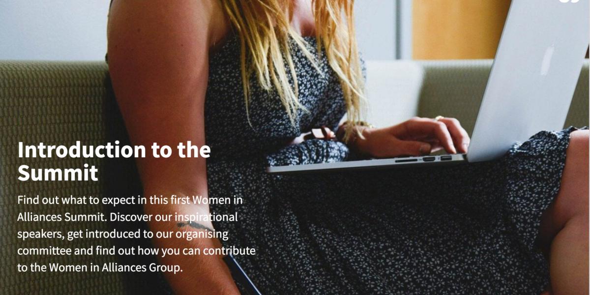 Women in Alliances 2021 Summit – Launching Alliance Professionals